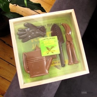 coffret jardinier chocolat