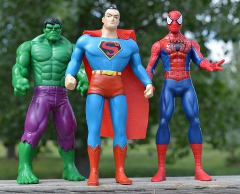 fan de super héros