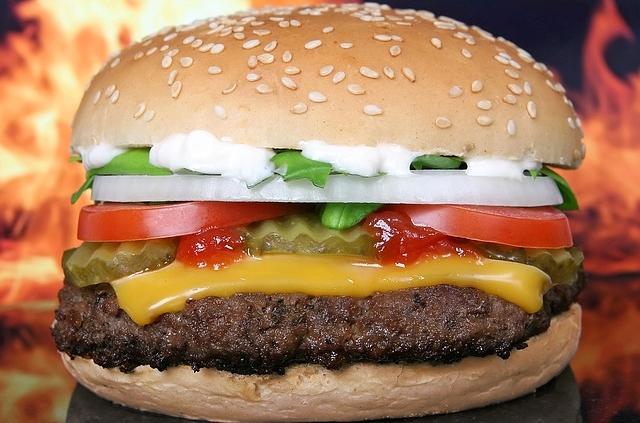 fan de hamburger
