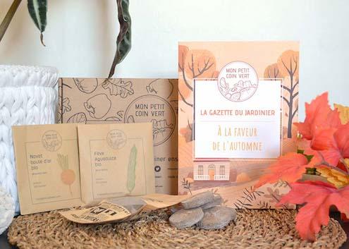 cadeau box jardinage bio