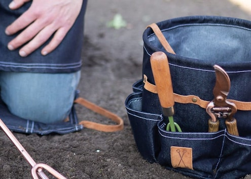 sac à outils cadeau jardinage