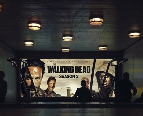 cadeau fan de walking dead