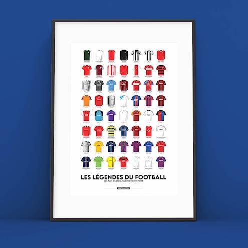 affiche fan de foot