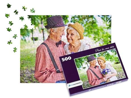 cadeau puzzle photo