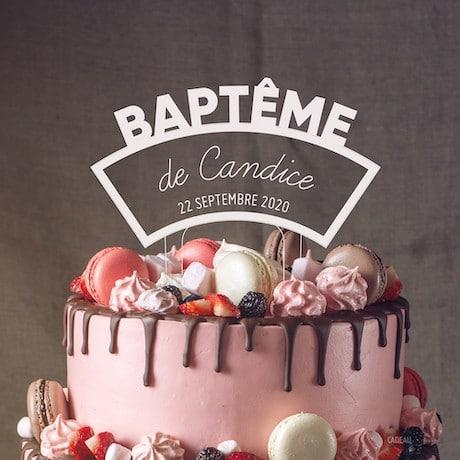 baptême pour garçon