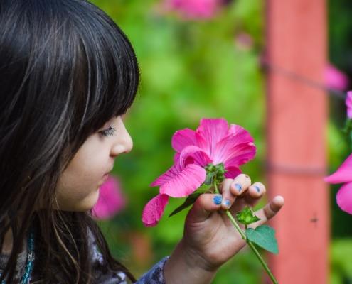fille de 5 ans